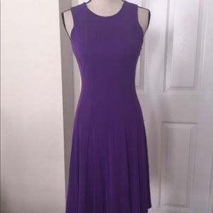 Ralph Lauren midi dress stretchy